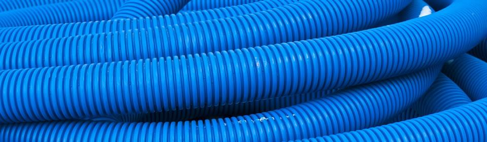 blauwe riolering